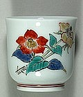 Sake cup, Kakiemon style, Japan 20th century