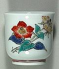 Sake cup, Kakiemon style, Japan 20th century