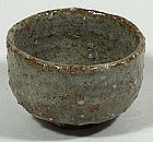 Sake cup, stoneware with grey glaze, Japan, 20th c.