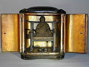 Zushi, Nichiren on chair, Japan, Edo period
