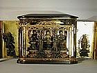 Zushi, mandala of Amida triad, Japan, Edo period