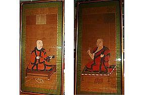 Paintings of Buddhist abbots, Japan, Muromachi era