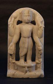 Antique Hindu Rama marble figure