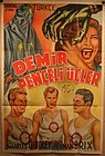 Original lithograph poster Dare Devils of the Red Circle 1939