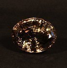 Giant Imperial Topaz oval 87 g almost 435 carats