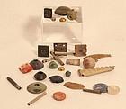 Peruvian Moche Chimu Chavin precious material group lot