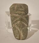 Guatemala Mayan Pre Columbian green stone figure
