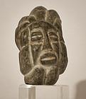 Pre Columbian Guatemalan Mayan stone figure