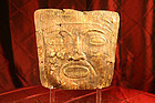 Panama Pre-Columbian Cocle gold burial mask 500-1000 AD