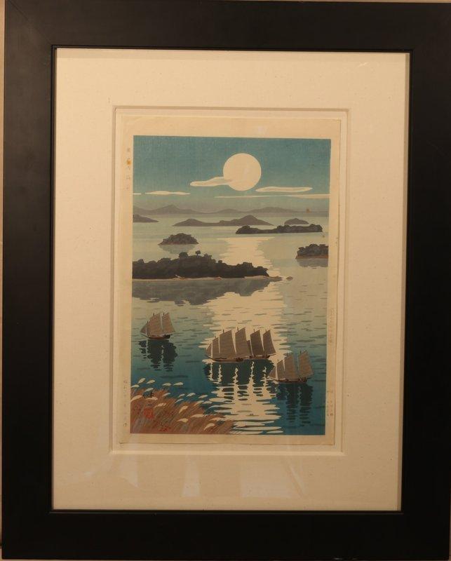 """Inland Sea at Seto in Autumn"" by Kenji Kawai"