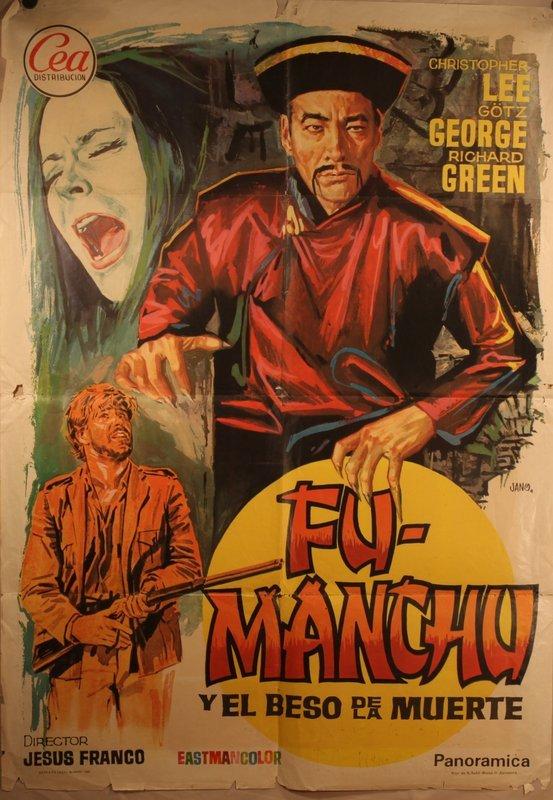 Christopher Lee Fu Man Chu E El Beso De Muerte 1957