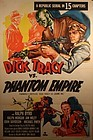 Dick Tracy vs Phantom Empire Republic movie serial poster