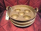 Antique South east asian or India  brass cooking steamer pot