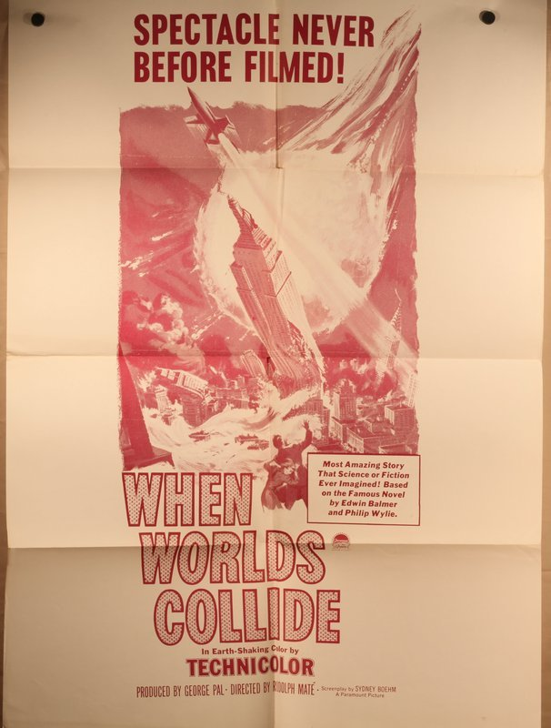 "Original release ""When Worlds Collide "" 1951 style C"