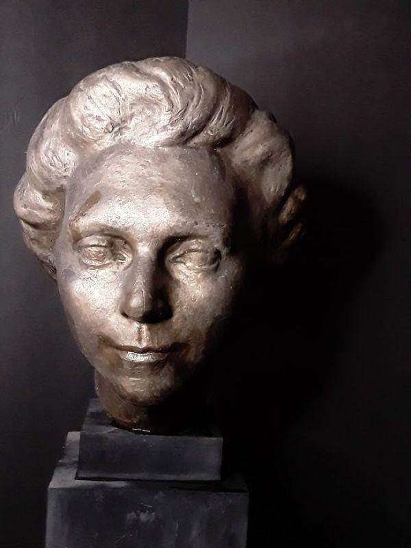 WPA Bronze bust by Edmund Amateis