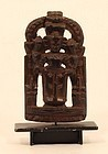 18th-19th c Indian Hindu rosewood Temple doll