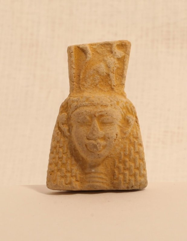 Egyptian Faience goddess pendant bead