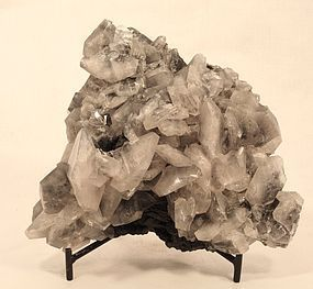Fantastic Quartz and Black Tourmaline mineral Specimen 16,159 ct