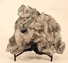 Fantastic Quartz and Black Tourmaline mineral Specimen 16,159 ct