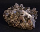 Fine Quartz Crystal and black Tourmaline specimen
