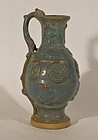 JunYao type Glazed and Molded Vase