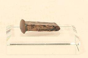 Peruvian Pre Columbian Copper- Tumbaga metal Craftsmans Chisel Chimu
