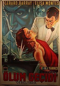 James Bond Like Turkish Movie Poster With Gerard Barray