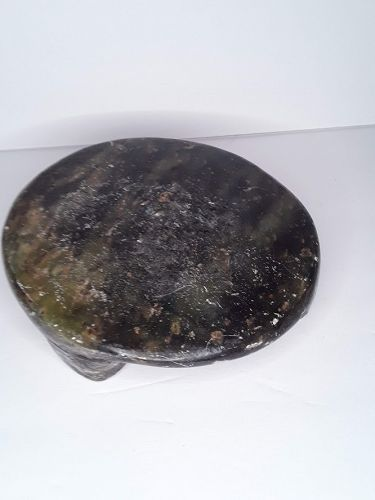 Indian Soapstone Chapati plate
