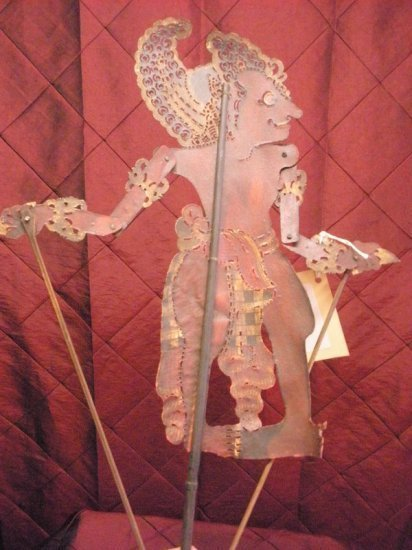 Bali leather shadow puppet