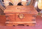 18th -19th c Indian British colonial cash box