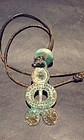 Han Dynasty Bronze Figural Pendant