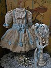 Very Pretty French BeBe Costume with Bonnet