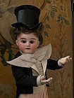 Pretty French Bisque Little Gentleman