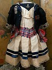 Elegant French Three Piece Bebe Costume