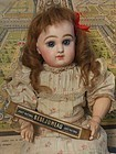 All Original French Bisque Bebe Jumeau with Factory Box