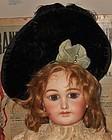 Superb Elegant French Silk Velvet Bebe Bonnet