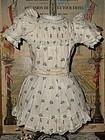 ~~~ Original Jumeau Factory Dress ~~~