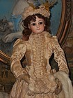 Beautiful Emile Jumeau Poupee with Especially Elegant Appearance