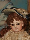 Pretty Small Antique French Poupee Bonnet