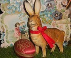 Pretty German Papier Mache Candy Box Bunny