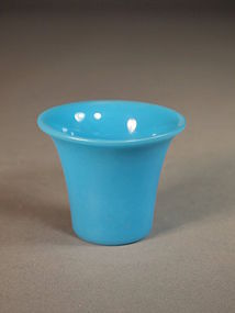 Chinese Beijing glass beaker-form cup