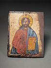 Greek icon painting on wood panel