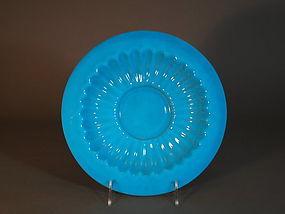 Chinese Beijing glass dish