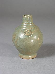 Thai celadon glazed stoneware water dropper