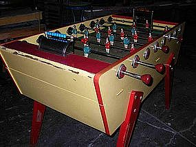 Vintage French Stella Artois Foosball Table Baby-Foot