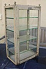 """Vintage French Medical Surgeon's Glass Cabinet """"Loreau"""""""