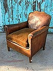 Vintage French Club Chair - Etampes Nailed Orphan