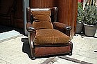 Vintage French Club Chair - Lisieux Wingback Single