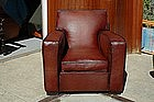 Vintage French Club Chair - Royal Giant Square Single
