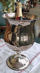 Vintage French Champagne Ice Bucket Cooler Unique Shape